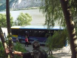 Dunaj na hranici Rumunska a Srbska
